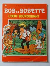 BOB ET BOBETTE n° 73  L'OEUF BOURDONNANT   ( EAUBO )  réédition