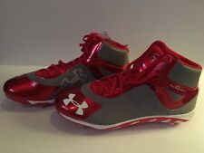 Under Armour 1250042-026 Clutchfit Metal Baseball Cleats New Size 12