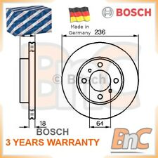 2x BOSCH FRONT BRAKE DISC SET MITSUBISHI PROTON OEM 0986478572 MR449769