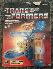 Vintage 1985 TRANSFORMERS SEASPRAY Minibot Autobot Action Figure Boat G1