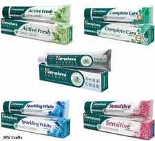 Himalaya Sensitive Complete White Stain Removal Toothpaste Vegetarian Herbal