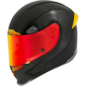 Icon Airframe Pro Helmet Carbon Red All Sizes