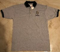 Minnesota Vikings Polo Shirt Large True Fan Embroidered Logo NFL
