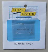 "PIPE FITTING #1 .020"" 1:24 1:25 DETAIL MASTER CAR MODEL ACCESSORY 3031"