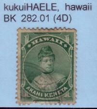 JHL HAWAII 42 w/ BLACK KUKUIHAELE 282.01 CANCEL, SCARCITY 4