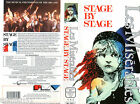 Les Miserables STAGE BY STAGE (1988) - VHS PVM - English Edition and Language