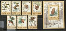 VIETNAM 1986, ENDANGERED FLORA, PLANTS, Scott 1724-1731, MNH