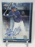 2019 Topps Chrome Fernando Tatis Jr Rookie Auto RA-FT Padres