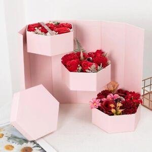 flower hat box 3 tier flower box birthday wedding centerpiece