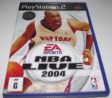 NBA 2004 PS2 PAL *No Manual*