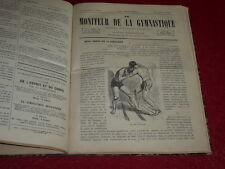 [Coll. Jean DOMARD PIONNIERS GYM SPORTS EPS] EUGENE PAZ -MONITEUR DE LA GYM 1868