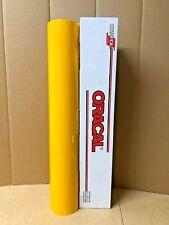 Oracal 651 1 Roll 24 X 10yd 30ft Signal Yellow 019 Gloss Sign Vinyl