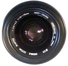 Sigma Zoom Master 35-70mm F/3.5-4.5 For Minolta-SONY? AF Lens