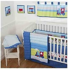 Sumersault 10 Piece Crib Bedding Set, Choo Choo
