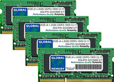 "8GB 4x2GB DDR3 1600MHz PC3-12800 204-PIN SODIMM IMAC 27"" LATE 2012/2013 RAM KIT"