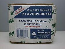 Advance 71A7801 High Pressure Sodium Ballast Kit 120/277V for (1) 50W S68 Lamp