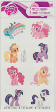 8 My Little Pony Tattoos (1 Sheet, 8 Perforations), Party Favors