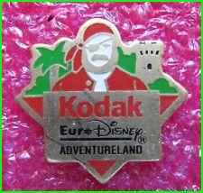 Pin's KODAK EuroDisney ADVENTURELAND  Disney Pirate  #1083