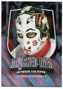 2011-12 ITG Between the Pipes Masked Men Silver #MM-4 Murray Bannerman