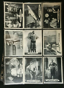THE ADVENTURES OF SUPERMAN VINTAGE CARD SET COMPLETE EX MINT-NM 1966