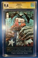 Redneck #1 Gold Foil Edition 9.4 NM CGC Signed by Donny Cates!