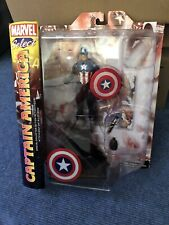MARVEL SELECT CAPTAIN AMERICA 2012 VERSION CARDED UNOPENED DIAMOND SELECT