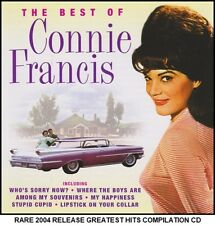 Connie Francis - Very Best Greatest Hits Collection - RARE 2004 Release CD