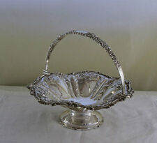 Sterling Silver Chased Basket, After Mappin & Webb