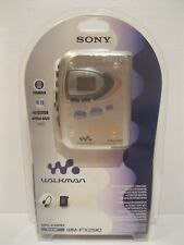 Sony WM-FX290W Walkman Digital Tuning FM/AM Stereo Cassette Player WMFX290W