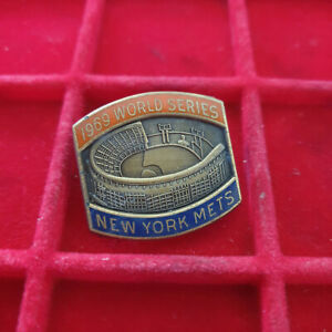 1969 New York Mets World Series Press Pin