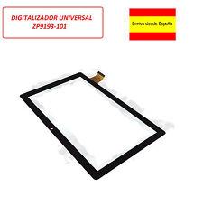 Digitalizador Unusual 10X 10M NEGRO cristal tactil ZP9193-101 universal 10.1