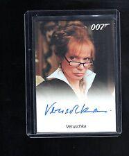 James Bond 50th Anniversary Veruschka auto card