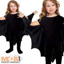 Alas de Murciélago Capa 2-3 años Niños Halloween Vestido Elaborado Disfraz Niños Niñas Niños Pequeños