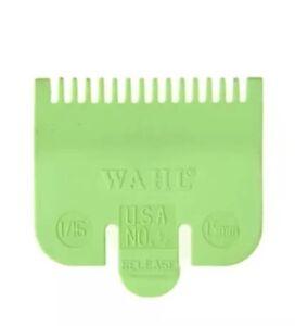 "Wahl Clipper Comb Attachment No. 1/2 size  1/16"" (1.5mm)"