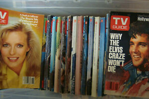 1976 to 1995 TV Guide Magazines! PICK YOUR ISSUE