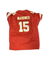 Mahomes Signed Jersey Red 2/2  ** Read Description **