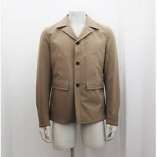 NEW Mens Prada Khaki Tecno Stretch Fabric Padded Jacket Size 50 RRP £685 BNWT