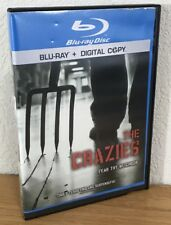 THE CRAZIES (Blu-Ray, 2010) NO DIGITAL -DISC IS FLAWLESS Former Rental -SEE PICS