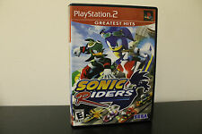 Sonic Riders  (Sony PlayStation 2, 2006) *Tested / Complete