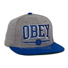 Men's OBEY ATHLETICS SNAPBACK CAP Hat