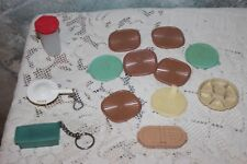 Vintage Tupperware Magnets and Keychains 1970's