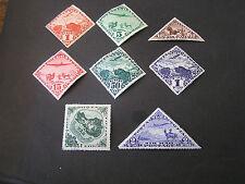*RUSSIA, TANNU-TUVA, SCOTT # C1-C4(4)+C6+C8/C9(2) 1934 AIR POST AIR SCENES MH
