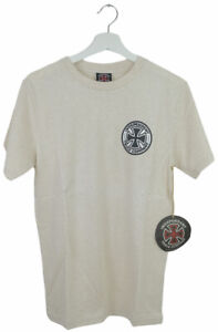 Independent Trucks Skateboarding Beige T-Shirt   Brand New With Tags