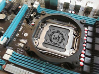 ATX X79 Motherboard INTEL LGA2011 Xeon E5 V1 & V2 DDR3/ECC REG RAM QUAD CHANNEL