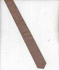Leather:Beige Tie-Genuine Leather-[ L36]-  Men's Tie