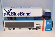 Lion Car No 36 Daf 2800 Blue Band with trailer near mint in box
