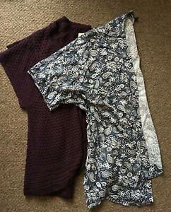 Size 26 - 28 bundle of coverups cardis wraps - 2 items inc EVANS