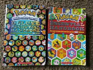 Pokémon Deluxe Essential Handbook and Esential Handbook  700+ 640 Pokemon
