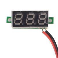 0.28 Inch DC 2.5V-30V Green LED Mini Digital Voltmeter Voltage Tester Meter JR