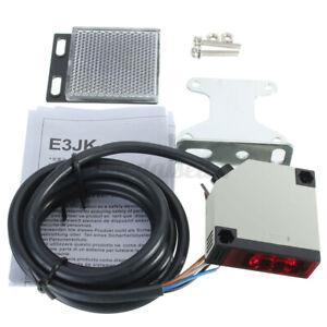 Lichtschranke Widerschein Reflexlichtschranke Sensor E3JK-R4M1 DC 10-24V DE